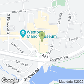 Map of Hampshire Counselling Service in Fareham, hampshire