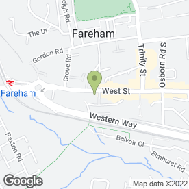 Map of Fastway Autocentre in Fareham, hampshire