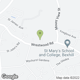 Map of SED Professional in Bexhill-On-Sea, east sussex
