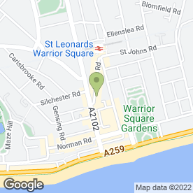 Map of Mama Putts in St. Leonards-On-Sea, east sussex