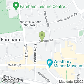 Map of Osborn Wedding Cars in Fareham, hampshire