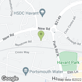 Map of AMT Building Property Services in Havant, hampshire