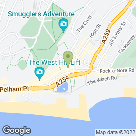 Map of Blackmarket in Hastings, east sussex