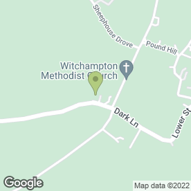 Map of M & F Armson Mini Digger & Driver Hire in Witchampton, Wimborne, dorset