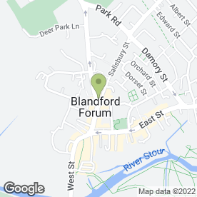 Map of SLEEK & CHIC HAIR DESIGN in Blandford Forum, dorset