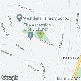 Map of Elite Health & Beauty in Westdene, Brighton, east sussex