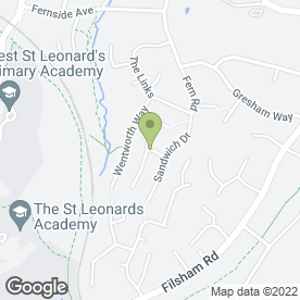 Map of Ray Russell Carpentry Ltd in St. Leonards-On-Sea, east sussex