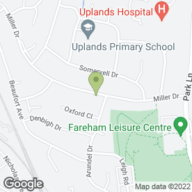Map of Fareham Domestic Heating Ltd in Fareham, hampshire