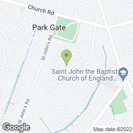 Map of John Barfoot in Locks Heath, Southampton, hampshire