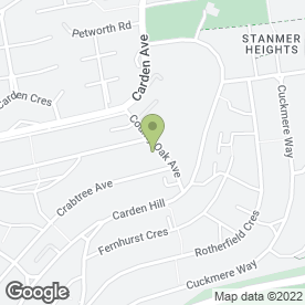 Map of County Oak Public House in Brighton, east sussex