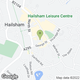 Map of The Hailsham Pavilion in Hailsham, east sussex