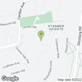 Map of Independent Plumbing & Heating in Hollingbury, Brighton, east sussex