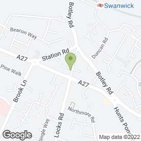 Map of Solent Locksmiths in Park Gate, Southampton, hampshire