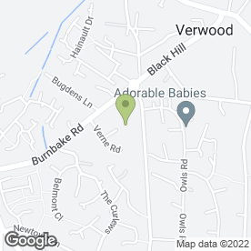 Map of J-TECH in Verwood, dorset