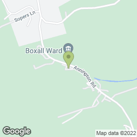 Map of Boxall Ward Ltd in Bramber, Steyning, west sussex