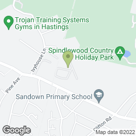 Map of Hannington-Gilbert & Co. Ltd in Haywood Way, Hastings, east sussex