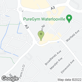 Map of Waterlooville Beds Ltd in Waterlooville, hampshire