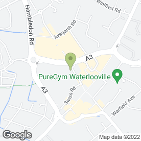 Map of DENTAL STUDIO in Waterlooville, hampshire