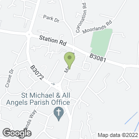 Map of Verwood Post Office in Verwood, dorset