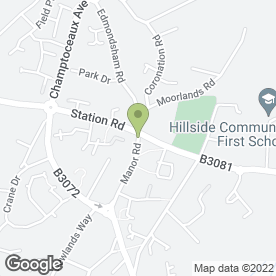 Map of Studio Rouge in Verwood, dorset