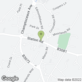 Map of The Verwood Surgery in Verwood, dorset