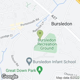 Map of 1 Plus 1 Kitchen Fitters in Bursledon, Southampton, hampshire