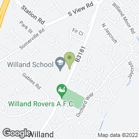Map of Essential Builders in Willand, Cullompton, devon