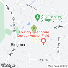 Map of Freeman Forman in Ringmer, Lewes, east sussex
