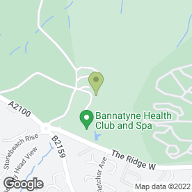 Map of BANNATYNE SPA HOTEL in St. Leonards-On-Sea, east sussex