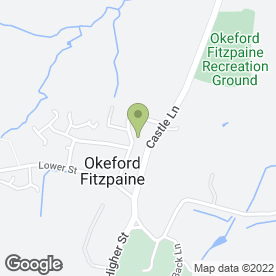 Map of Fippenny Garage Ltd in Okeford Fitzpaine, Blandford Forum, dorset