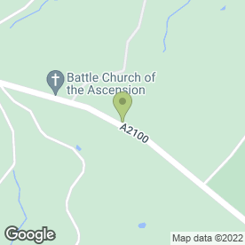 Map of Wilmoths Citroen in Battle, east sussex