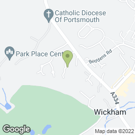 Map of Protectus Consulting in Wickham, Fareham, hampshire