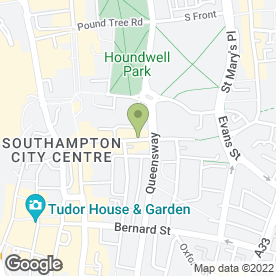 Map of Newcross Healthcare Solutions Ltd in Southampton, hampshire