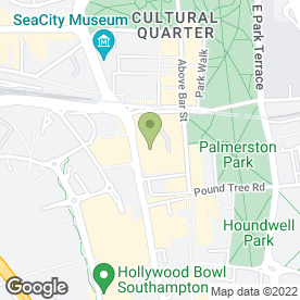 Map of The Market Gallery in Southampton, hampshire