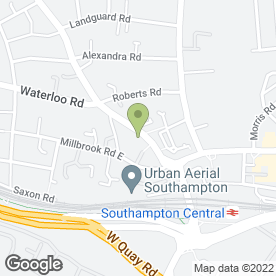 Map of Wessex Tutors in Southampton, hampshire