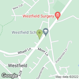 Map of Dr S.R Stern in Westfield, Hastings, east sussex