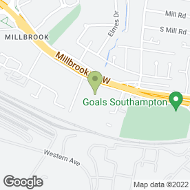 Map of Access Self Storage in Southampton, hampshire