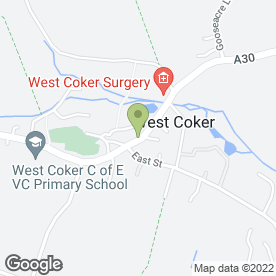 Map of Westlake Surgery in West Coker, Yeovil, somerset