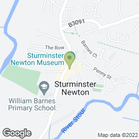 Map of Enzo's Hair & Beauty in Sturminster Newton, dorset