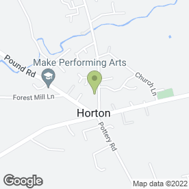 Map of The Five Dials Inn in Horton, Ilminster, somerset