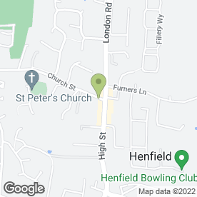 Map of R.J Dewdney & Co in Henfield, west sussex