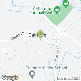 Map of Solent Training Ltd in Calmore, Southampton, hampshire