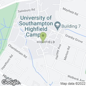 Map of Conference & Hospitality Office in Southampton, hampshire