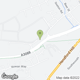 Map of WM Morrison Supermarkets plc in Yeovil, somerset