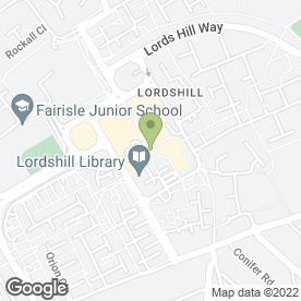 Map of Advance Dental Health Ltd in Southampton, hampshire
