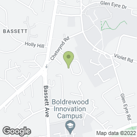 Map of Bassett Antiques Valuation & Restoration in Southampton, hampshire