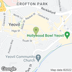 Map of Karen Baker Of Bond Street in Yeovil, somerset