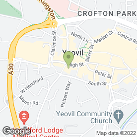 Map of Regis Hair & Beauty in Yeovil, somerset