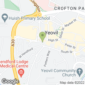 Map of Red Berry Recruitment in Yeovil, somerset