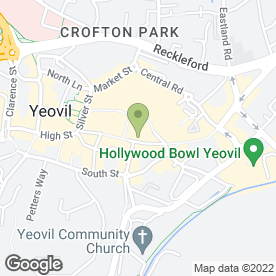 Map of Boots Hearing Care in Yeovil, somerset